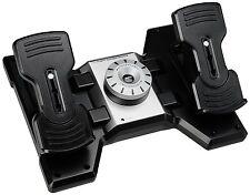 Saitek PRO Flight Rudder Pedals with Toe Brake for Flight Simulation PZ35