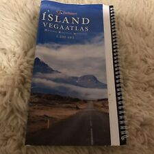 Iceland Road Atlas Book Maps Travel