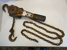 Quality 34 Ton 6 Foot 14 Chain Hoist Puller Winch Come Alongshop Lift