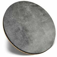 Round Single Coaster  - BW - Ombre Painting Effect Print  #35104