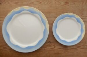 VILLEROY & BOCH LUXEMBOURG ADRIANA 0147 4 X DINNER AND 6 X SIDE PLATE DINNER SET