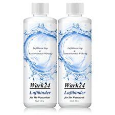 Wark24 Luftbinder Bubble Stop 400g - Luftblasen Stop für Wasserbetten (2er Pack)