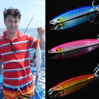 30G métal Jigging cuillère appât mer pêche pêche plomb poisson leurres   Q9F