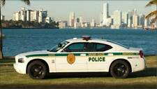 GREEN LIGHT POLICE MIAMI DADE DODGE CHARGER CUSTOM UNIT