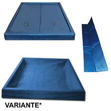Wasserbett Matratze DUAL Set: Wasserkern + Wanne- Liner  + Wand Thermotrennwand