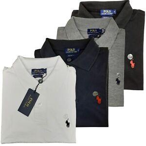 NEU Ralph Lauren Poloshirt Custom Fit T-Shirt Small Pony S-XL