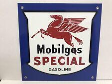 Mobilgas Mobil Gas Oil  pegasus gasoline racing vintage Style advertising sign