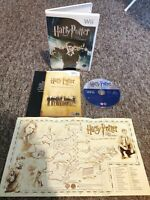 Harry Potter & The Order Of The Phoenix - Nintendo Wii/Wii U Game MANUAL & MAP!