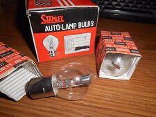 NOS Stanley A7368 6V 25/25 6 Volt Headlight Head Lamp Light Bulb Qty2