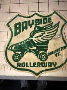 Vintage Bayside Rollerway,  Burlington  Vt, Roller Skating Sticker