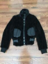 Beautiful Genuine Mink Knitted Jacket with Zipper Closure Size XS-S