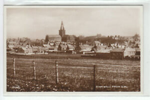 Kirkwall From SW Orkney 1922 Real Photograph Valentines 87281 Old Postcard