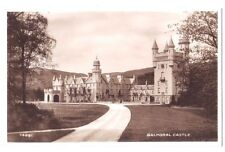 Balmoral Castle OLD SCOTLAND SCOTTISH RP PHOTO POSTCARD