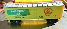 HO SCALE TRAIN BOXCAR BALLANTINE ALE BEER LIFE-LIKE