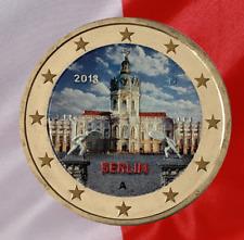 2 Euro Sondermünze Deutschland 2018 Coloriert Berlin in Farbe Mzz A
