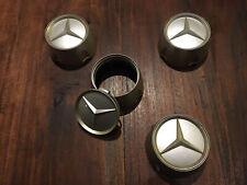Mercedes Benz Nabendeckel 201401 und Kappe, 4 Stück