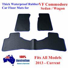 Blue Rubber Floor Mats Tailored For Holden Commodore VF 2013 - 2018 Sedan Wagon