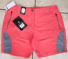 NEW Regatta Sungari Walking Shorts Neon Peach Womens Size 14 RRP £40