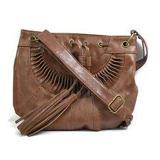 """Faith """"Colton"""" Brown Tan Designer Handbag  40% OFF"""