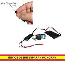 Micro Camara espia 1080P Grabador Bateria 4.000mAh Detector de Movimiento