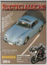 5 1999 RUOTECLASSICHE 128 - ALFA ROMEO 1900 SS - ASTON MARTIN DB 2/4 - JAGUAR XK