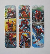 Spiderman 3pcs Cardboard Bookmarks 6.5'' lenght (16cm).