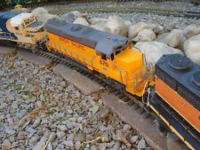G-Scale 1/32 Union Pacific Dummy GP-40 Diesel With Sound - Can Be Motorized NEW