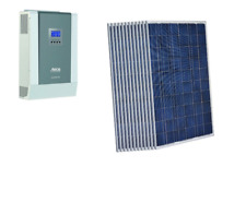 KIT ISOLA 3KW PANNELLO MADE IN ITALY 270W SOLARE INVERTER STECA 5KW FOTOVOLTAICO
