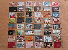 Starbucks Ltd Edition Cards *** 2015 COMPLETE 48 CARD HOLIDAY SET *** MINT & HTF