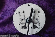 Bull Terrier CD Clock by Curiosity Crafts
