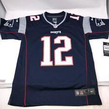 Tom Brady Nike NFL New England Patriots Blue Jersey NWT Youth Size Medium