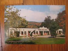 vtg Pioneer Valley Motel Bernardston MA POSTCARD Greenfield hotel Franklin Cty