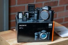 Sony Alpha A7SII A7S II A7S2 12.2MP camera with extras