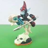 Skylanders GIANTS character figure: FRIGHT RIDER (orange base)