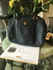 Christian Dior Navy Blue Handbag Certificate Of Authenticity No Reserve