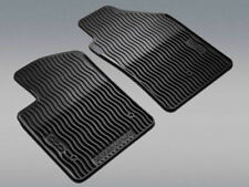 2012-2015 FIAT 500 500C ALL WEATHER SLUSH RUBBER FRONT FLOOR MATS OEM 82212444AB