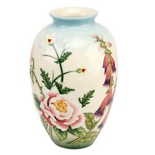 "Old Tupton Ware ""english Garden"" 8"" Medium Vase TW7903"
