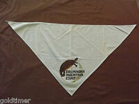 VINTAGE BSA BOY SCOUTS OF AMERICA  NECKERCHIEF CRUMHORN MOUNTAIN CAMP