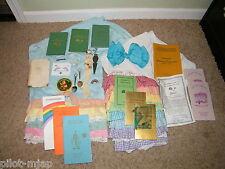 Vintage ~ Order of The Rainbow Girls ~ Bloomers / Pins / Handbooks / Spoons
