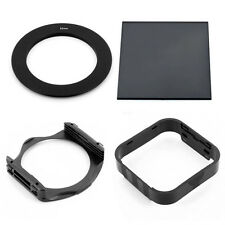72MM RING ADAPTER+FULL ND8 SQUARE FILTER+ HOLDER +HOOD FOR COKIN P SERIES System