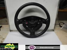 GENUINE HOLDEN ASTRA TS LEATHER STEERING WHEEL