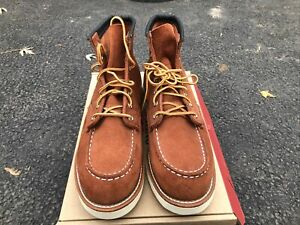 Red Wing 6-Inch Classic Moc Copper Abilene 8810 Men's Size 8D