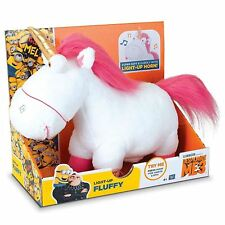 Despicable Me Fluffy Unicorn Plush with Light-Up Horn Toy Figure