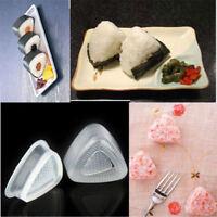2 Sets Triangle Sushi Mold Rice Ball Maker Cake Press Mold Maker Kitchen DIY