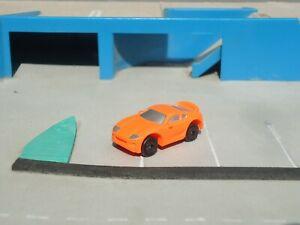 Micro Machines Toyota Supra Sport Car in orange
