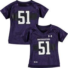 Northwestern University WILDCATS 18 Months Football Jersey 51 Replica NEW $40