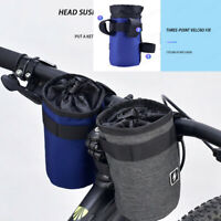 Bicycle Water Bottle Holder Pouch Road Bike Cycling Insulated Kettle Bag Cage