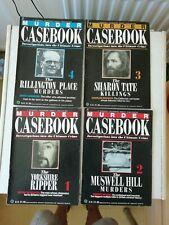 MURDER CASEBOOK MAGAZINES JOBLOT