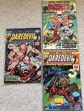 Marvel Comics Group DAREDEVIL The Man Without Fear #119, 121, 122