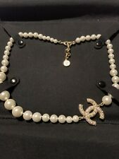 Chanel Pearl Necklace Boxed